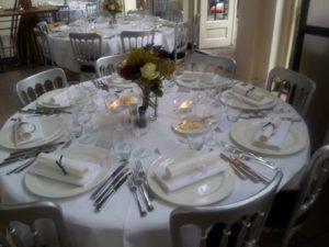 Gedekte tafel Hemelum