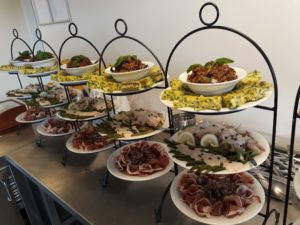 catering Leeuwarden etageres