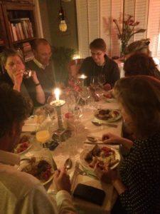 Natuurlijk is er na de kookworkshop ook : het diner!