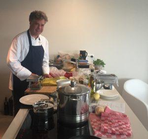 Privé kok aan huis Hemelum