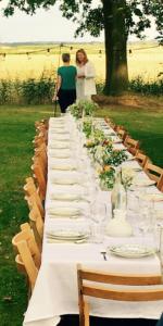 Catering bruiloft Hemelum